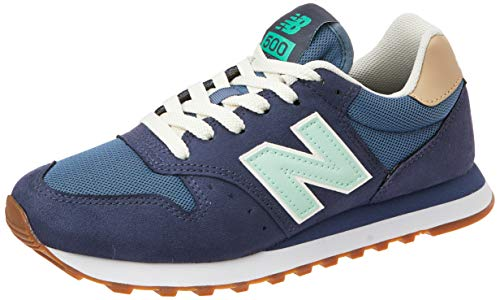 New Balance Tênis 500 Feminino, 34, Azul