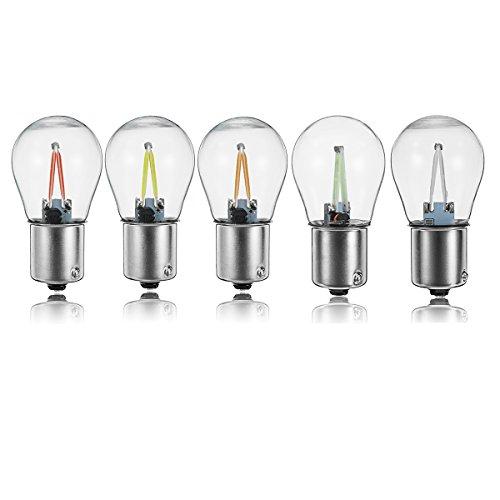C-Funn LED-lamp met 5 kleuren, 2,5 W, 28 V, 200 lm, met LED-lampen in vijf kleuren bianca