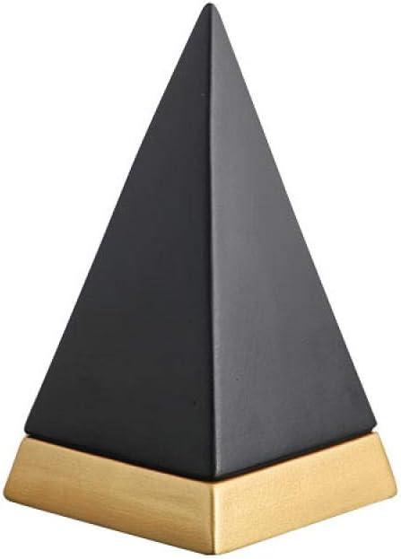 WKDG Very popular Alternative dealer Head Sculptures Heavy 0.8Kg Pyramid Handicraft Decora Resin