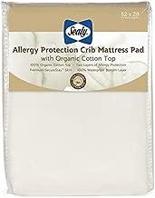 Sealy Baby - Crib Mattress Pad with Organic Cotton Top