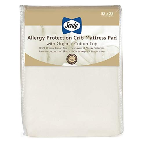 Sealy Allergy Protection Pad with Organic Cotton Top