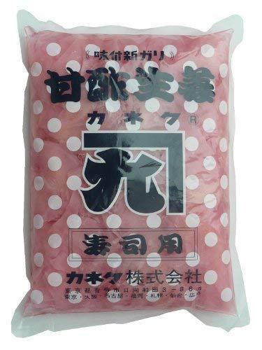 カネクブルーk甘酢生姜固形800g(ピンク)【入り数2】