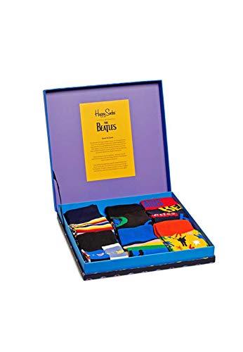 Happy Socks Geschenkbox THE BEATLES SOCKS BOX 6-PACK GIFT BOX XBEA10-0100 Mehrfarbig, Size:41-46