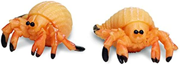 Safari Ltd. Good Luck Minis - Hermit Crabs - 192 Pieces - Quality Construction from Phthalate, Lead and BPA Free Materials - For Ages 5 and Up