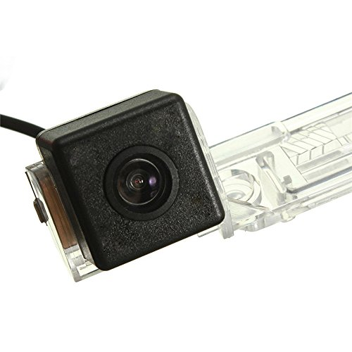 HDMEU Caméra de Recul Voiture en Couleur Kit Caméra Vue arrière de Voiture Imperméable IP67 avec Large Vision Nocturne pour Caddy B5 B6 Passat 3C 3B Jetta Sagitar Multivan T5 Golf Plus Polo