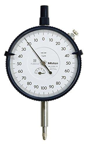 Mitutoyo 3109s-10 Grand Diamètre haute résolution Cadran Indicateur, 1 mm (0,2 mm)