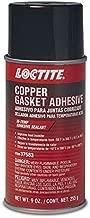 Loctite 9 Ounce 502911 Copper Gasket High Temperature Adhesive Sealant Aerosol Can, 9-oz