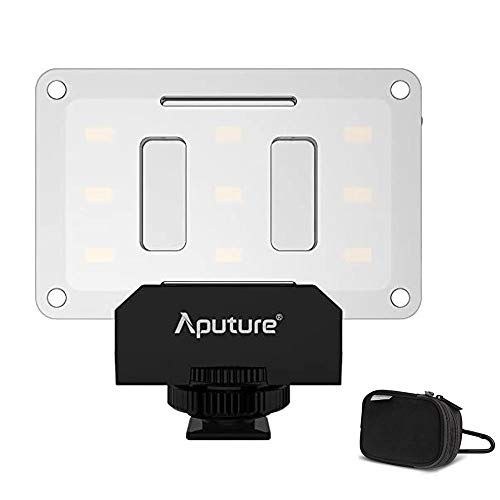 Aputure AL-M9 Amaran Lighting Up Pint-Sized LED Fill lampe Mini Vidéo Lumière avec 9 SMD Bulbs TLCI 95+ 9 étapes réglable luminosité Très mince léger