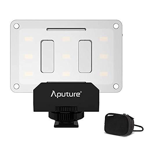 Aputure AL-M9 Amaran Lighting Up Pint-Sized - Mini vídeo con 9 luces SMD Bulbs TLCI 95 + 9 etapas ajustables, brillo muy delgado