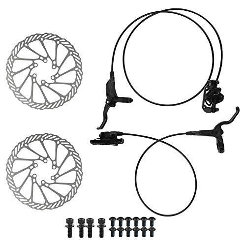 MAGT Freno de Disco para Bicicleta, Kit de Freno de Disco hidráulico...