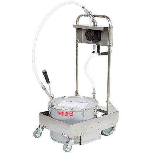 MirOil 55HD Fryer Filter Machine -Discard Trolley Manual, One Way Pump