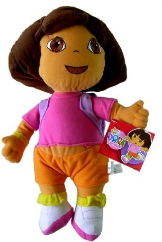 Dora the Explorer 12 Plush  Dora Wearing Backpack by Dora the Explorer
