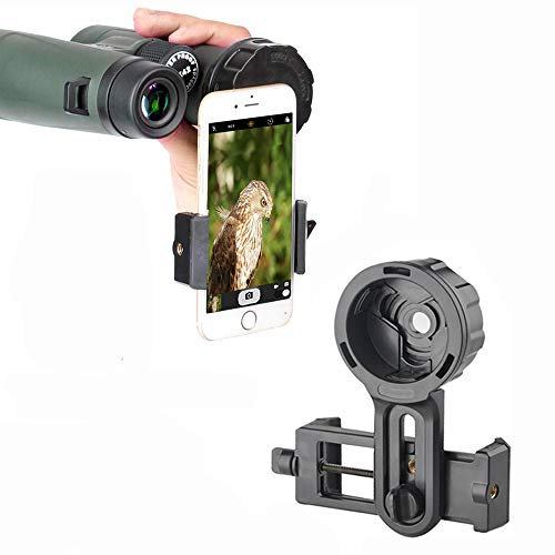 Spotting Scope Smartphone Camera Adapter, Telescope Camera Adapter, Cell Phone Adapter Mount for Binocular Monocular