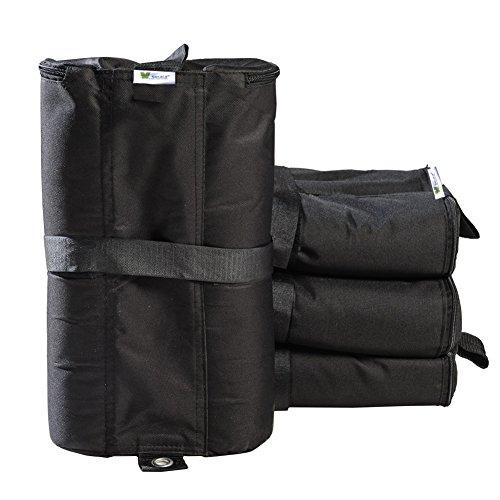 SORARA Packung mit 4 Stück Zelt Zusätzlich Schwer Gewicht Taschen für Partyzelt Garten Zelt Festzelt Pavillon