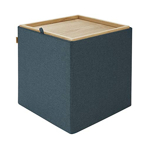 Kvell Trae Ottoman Coffee Table, Curious Green
