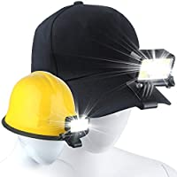 2-Pack Gebalage Clip-On LED Headlamp