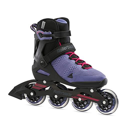 Rollerblade Damen Sirio 84 Inline-Skate, Viola Fumo/Rosa, 40 EU