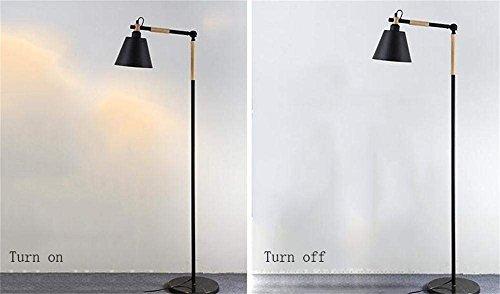 Terra lamp Scene Multiple voor huishoudelijk gebruik in Amerikaanse stijl in retro stijl van smeedijzer, woonkamer, slaapkamer, nachtkastje studio (zwart, wit optioneel) lamp meegeleverd zwart.
