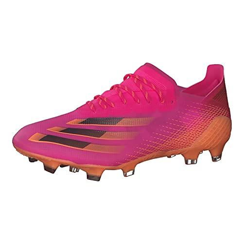 adidas X GHOSTED.1 FG, Zapatillas de fútbol Hombre, ROSSHO/NEGBÁS/NARCHI, 39 1/3 EU