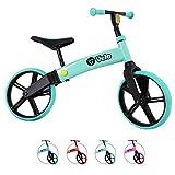 Yvolution Y Velo Bicicleta de Equilibrio Senior para Niños | Sin Pedales Bicicleta De Entrenamiento De 3 A 5 Años (Azulado)