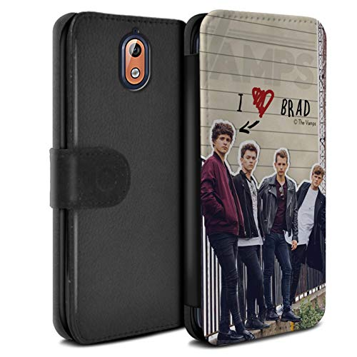 The Vamps PU lederen hoesje/portemonnee/OTH-PSW Secret Diary Collectie Nokia 3 2018 (3.1) Brad