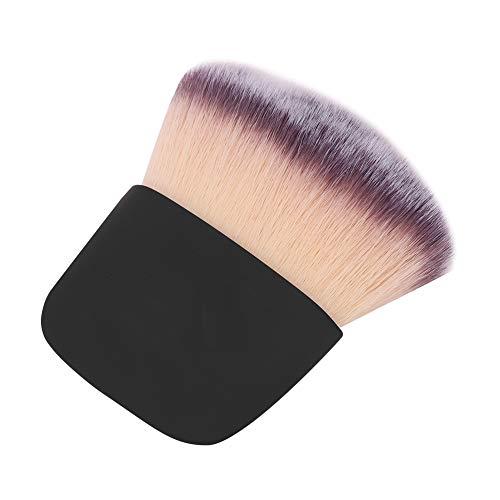 Pincel de maquillaje, Pincel para polvos sueltos, Pincel de fibra Cabello Supercapacidad Principiantes Amantes del maquillaje para maquilladores profesionales Profesionales de la(black)