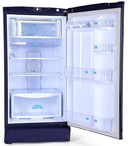 Godrej 190 L 3 Star Inverter Direct-Cool Single Door Refrigerator with Jumbo Vegetable Tray (RD 1903 EWHI 33 STL BL, Steel Blue, Inverter Compressor) 4