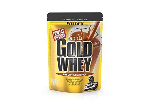 Weider Gold Whey Proteine del Siero di Latte, Sapore Cioccolato - 500 Gr