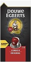Douwe Egberts Koffiecups Lungo Original (100 Capsules, Geschikt voor Nespresso* Koffiemachines, Intensiteit 06/12,...