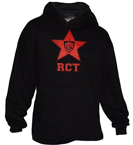 RUGBY CLUB Toulon:sudadera con capucha RCT, colección oficial del Rugby Club Toulon; talla infantil