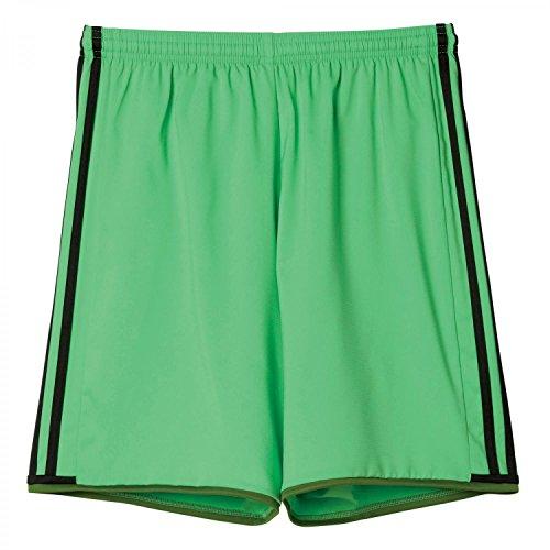 Adidas Unisexe Team Pantalon Après-shampoing 16 Short de Short de Gardien de But XS Solar Lime s16/Raw Lime s16/Black