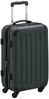 HAUPTSTADTKOFFER - Alex- Carry on luggage On-Board Suitcase Bag Hardside Spinner Trolley 4 Wheel Expandable, 55cm, dark green (B005GUI3VM) | Amazon price tracker / tracking, Amazon price history charts, Amazon price watches, Amazon price drop alerts