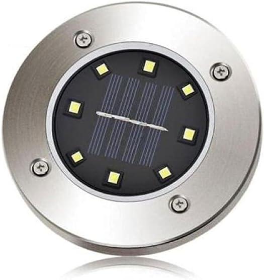 12PCS Solar 8 mart LED Ground Light Ranking TOP5 with Garden Landscape Senso