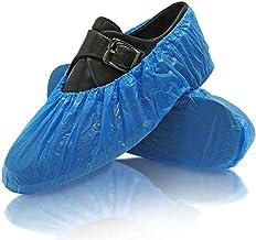 Schoenovertrekken, 100 stuks, overschoenen, 50 paar, blauw, waterdicht, universele maat 40 x 15 cm