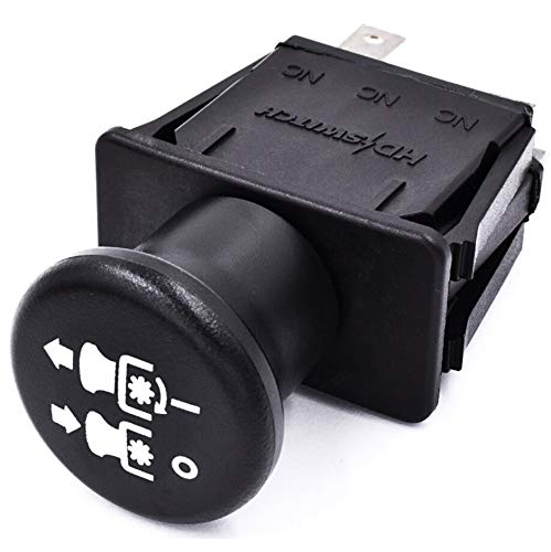 HD Switch Blade Clutch PTO Switch Replaces Toro 104-8140 ProLine Turbo Force Series - 10 AMP OEM Upgrade
