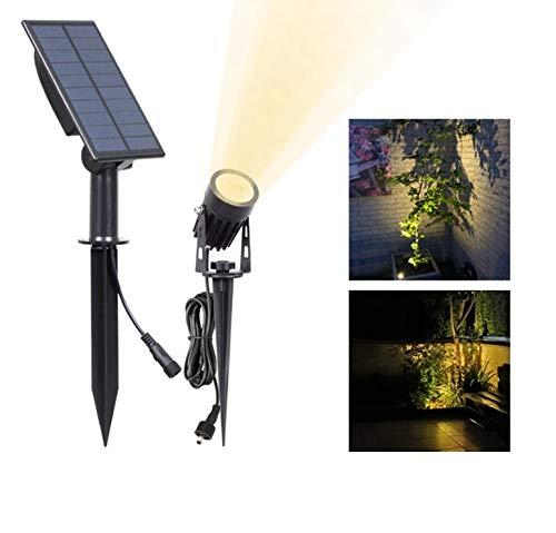 Led-landschap-koplamp, waterdicht, outdoor-zonnelampen, auto on/off-solar-wandlampen voor tuin, oprit, padway