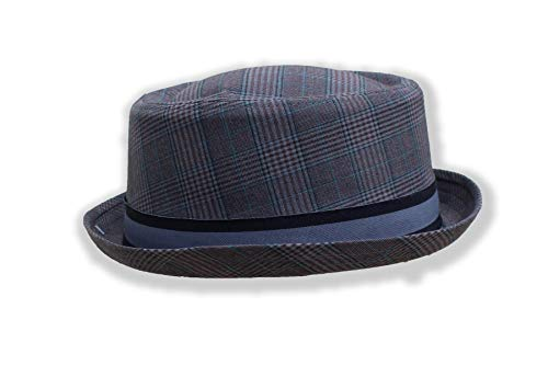 Vectis Thorness Rude Boy/Ska Pork Pie Hat - Grey Size 57cm
