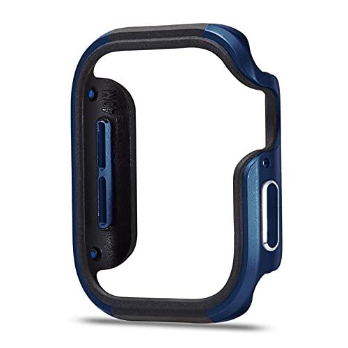 LGFCOK Nuevo diseño de aleación de Aluminio + Funda TPU para la Serie de Watch SE Serie 6 5 4 Funda de 44 mm 40 mm Cáscara Parachoques para el Marco del Watch
