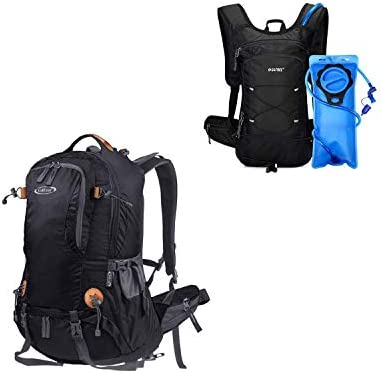 G4Free Hiking Backpack Hydration Backpack with 2L BPA Free Bladder for outdoor Running Hiking product image