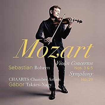 Mozart: Violin Concertos Nos. 3 & 5, Symphony No. 29