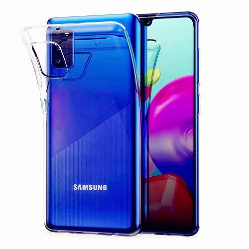 AhaSky [2 Pezzi] Cover per Huawei P30 Lite, Custodia Trasparente Morbida Gel TPU [Ultra Leggere e Chiaro] Silicone Ultra Sottile Case per Huawei P30 Lite