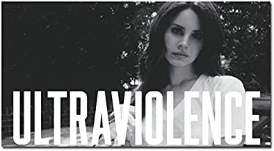 makeuseof ULTRAVIOLENCE - Lana Del Rey Music Singer Art Silk Fabric Poster 24x36 inch 031