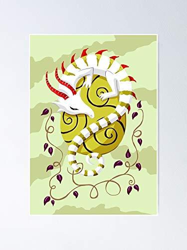 AZSTEEL Dr-Agon Egg Poster Poster 11.7 * 16.5
