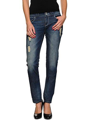 One Green Elephant Damen Skinny Jeans YANAI HO4123/010, Gr. W26/L32 (Herstellergröße: XS), Blau