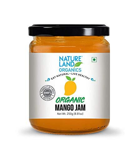 Natureland Mermelada de Mango Organics 250 Gm - Mermeladas orgánicas saludables