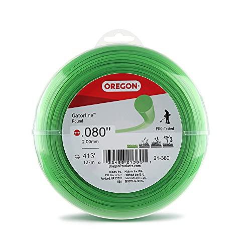 Oregon Gatorline 1-pound Round String Trimmer Line of .080-inches...