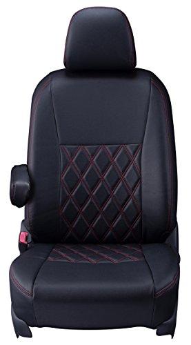 クラッツィオ シートカバー ステップワゴン RF系 Clazzio ダイヤ ブラック×レッドステッチ EH-0400