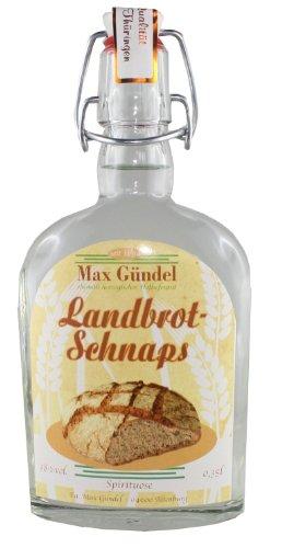 Landbrot Schnaps - 38% - 0,35l Bügelflasche - Max Gündel Altenburg