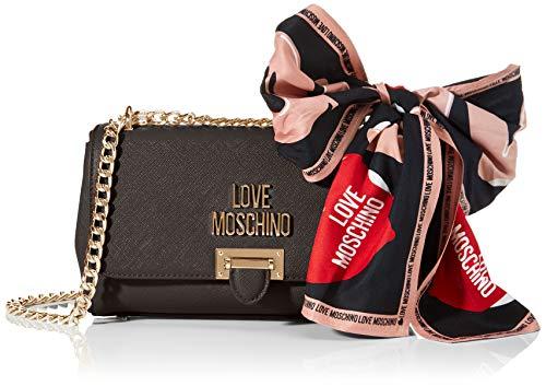 Love Moschino Jc4239pp0a, Pochette da Giorno Donna, Nero (Black),...