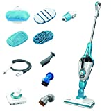 BLACK+DECKER Steam Mop with SteamGlove Handheld Steamer, 7-in-1, Corded (HSMC1361SGP)